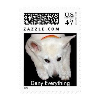 Deny Everything Postage