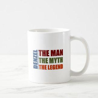 Denzel the man, the myth the legend coffee mug