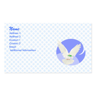 Denzell Dove Business Card