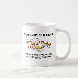 Deoxyribonucelic Acid (DNA) Mendel Darwin Coffee Mug