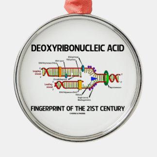 Deoxyribonucleic Acid Fingerprint Of 21st Century Christmas Ornaments