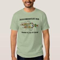 Deoxyribonucleic Acid Fingerprint Of 21st Century T-shirt