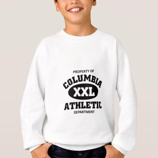 Departamento atlético de Columbia Sudadera