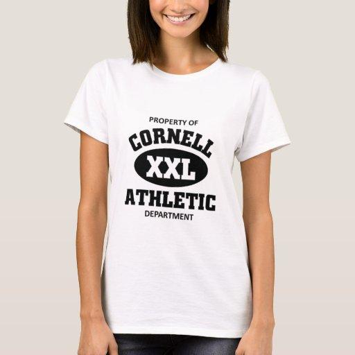 Departamento atlético de Cornell Playera