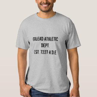 Departamento atlético de Gilead Playera