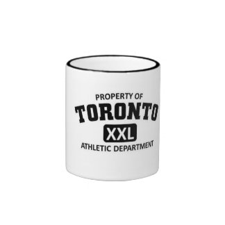 Departamento atlético de Toronto Taza De Dos Colores