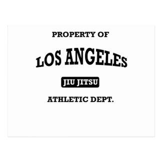 Departamento atlético Jiu Jitsu de Los Ángeles Postales