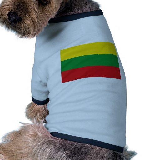 Departamento de Bolivar, Colombia Camiseta Con Mangas Para Perro