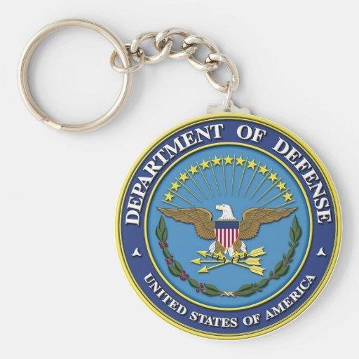 Departamento de Defensa Llaveros
