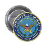 Departamento de Defensa Pins