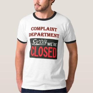 Departamento de denuncia - somos camisa cerrada
