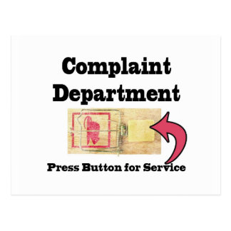 Departamento de denuncias postales