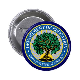 Departamento de Educación de Estados Unidos Pin Redondo 5 Cm