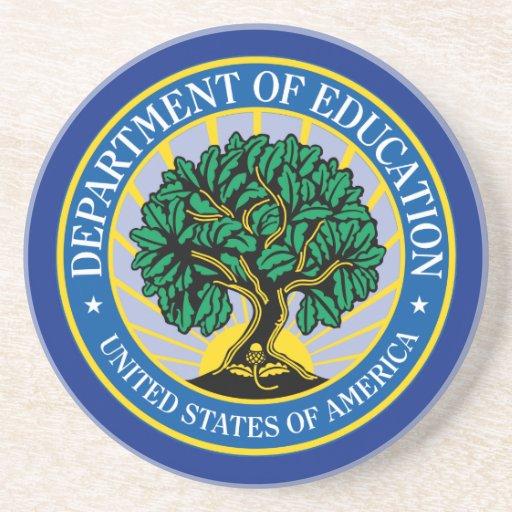 Departamento de Educación de Estados Unidos Posavaso Para Bebida