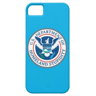 Departamento de estupidez de la patria iPhone 5 carcasas