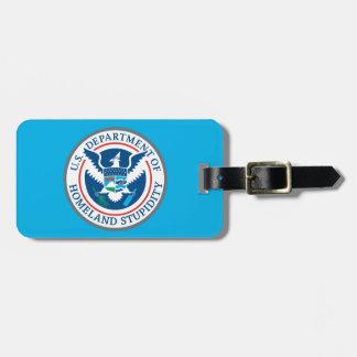 Departamento de etiqueta del equipaje de la estupi etiquetas maleta