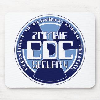 Departamento de la CDC de seguridad del zombi de l Alfombrillas De Ratón