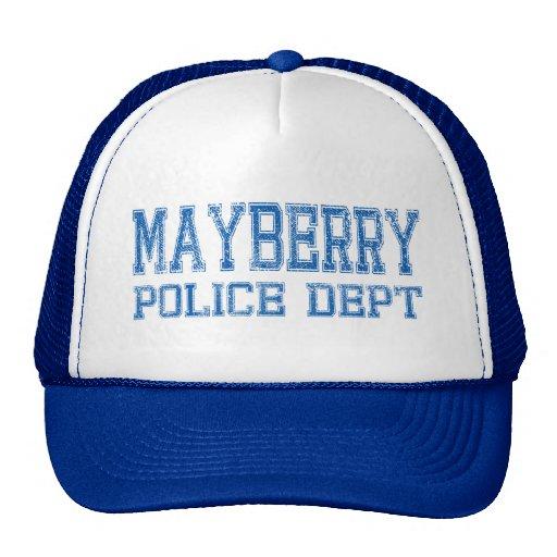 Departamento de la policía de Mayberry Gorro De Camionero