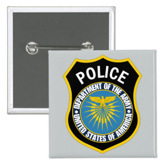 Departamento de la policía del ejército pin