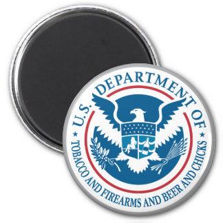 Departamento de los E.E.U.U. de tabaco y armas de  Iman De Nevera
