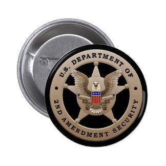 Departamento de los E.E.U.U. del 2do botón de la s Pin Redondo De 2 Pulgadas