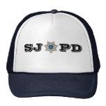 Departamento de Policía de San Jose Gorras De Camionero