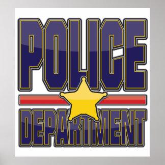 Departamento de Policía del lustre Póster