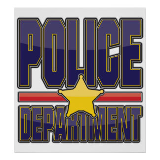 Departamento de Policía del lustre Posters