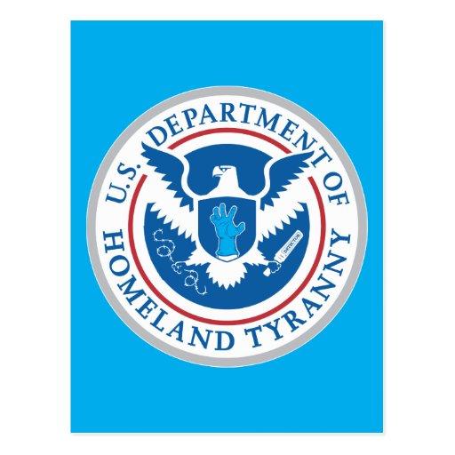 Departamento de tiranía de la patria postales