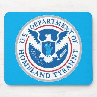 Departamento de tiranía de la patria tapete de ratón