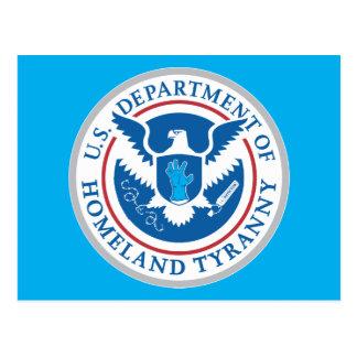 Departamento de tiranía de la patria tarjetas postales