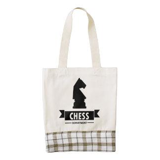 Departamento del ajedrez bolsa tote zazzle HEART