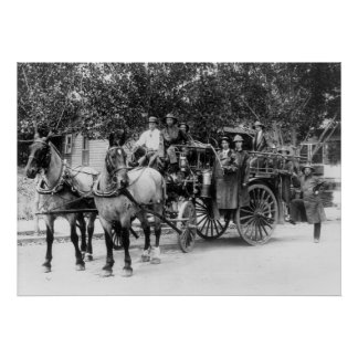Departamento del fuego de Wenatchee: 1911 Impresiones