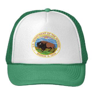 Departamento del interior gorras de camionero