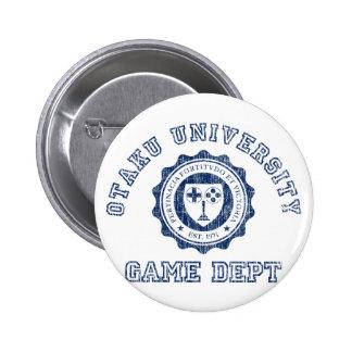 Departamento del juego de la universidad de Otaku Pin