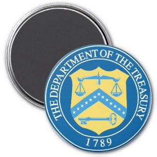 Departamento del Tesoro Imán Redondo 7 Cm