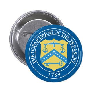 Departamento del Tesoro Pin