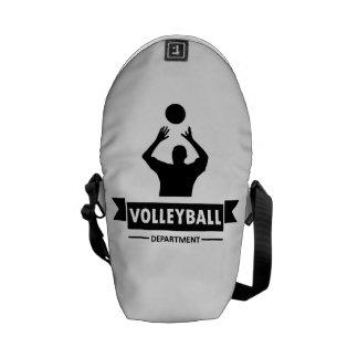 Departamento del voleibol bolsas de mensajeria