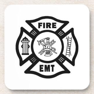 Departamento EMT del fuego Posavasos De Bebidas