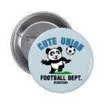 Departamento lindo del fútbol de la unión pin