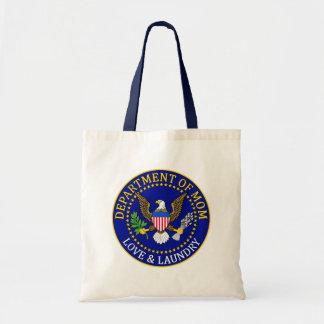 Departamento oficial de sello de la mamá bolsas