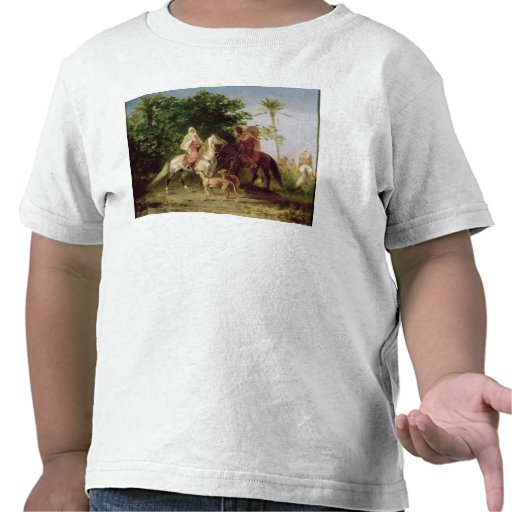 Departing for the Hunt Tee Shirt