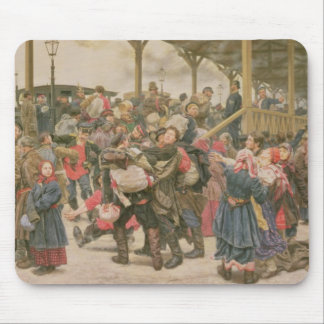 Departing for the War, 1888 Mouse Pad
