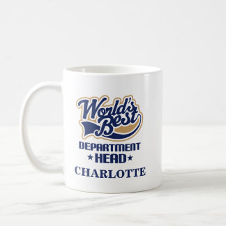 Department Head Personalized Mug Gift