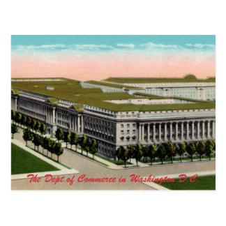 Department of Commerce Vintage Postcard