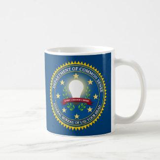 Department of Common Sense Coffee Mugs