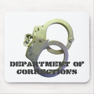 DEPARTMENT OF CORRECTIONS MOUSE PAD