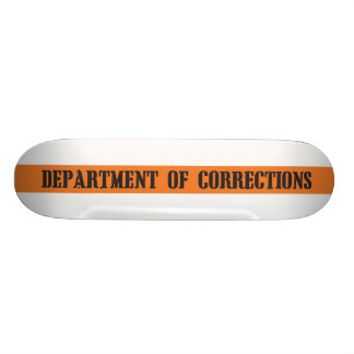 Department of Corrections Skateboard Deck