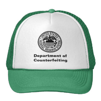 Department of Counterfeiting Trucker Hats