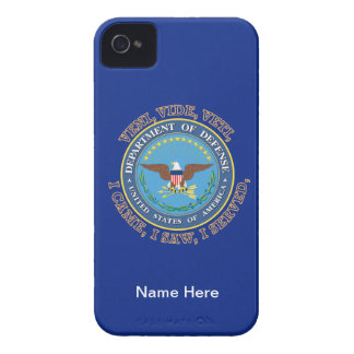 Department of Defense DOD VVV Shield iPhone 4 Cover